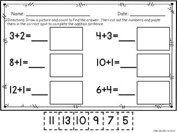 Relating Addition and Subtraction to Counting: 1.OA.C.5 Common Core Math
