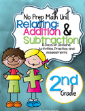 No Prep Addition & Subtraction (within 100) Unit 2nd Grade{CCSS}