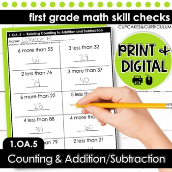 Relating Counting to Addition and Subtraction - First Grad