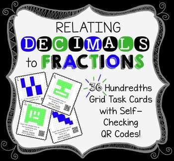 MATH TEST PRPE: Relating Decimals and Fractions