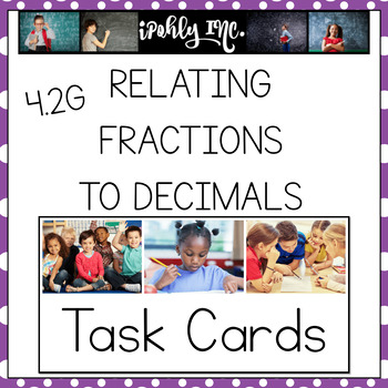 Relating Fractions to Decimals 4.2G