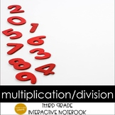 Relating Multiplication & Division Interactive Notebook