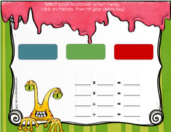 Relating Multiplication and Division Fact Family Practice Google Classroom
