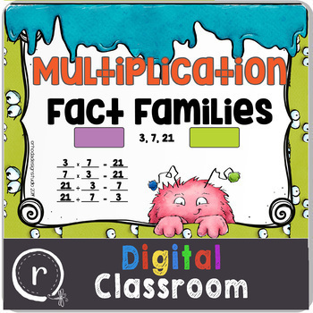 Relating Multiplication and Division Fact Family Google Classroom Paperless