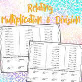 Relating Multiplication with Division