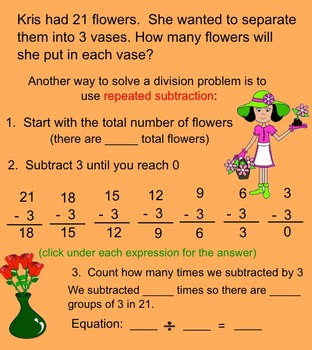 Relating Subtraction and Division 3rd grade Go Math!
