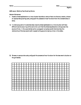 Relating Two Graphing Stories: Piecewise Functions Revisited