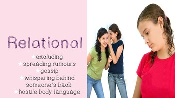 Relational Aggression- A Bullying PowerPoint