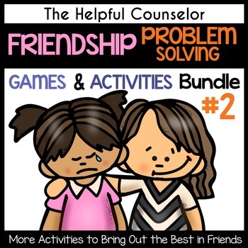 Friendship Drama Game and Activities Bundle