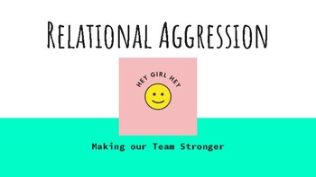 Relational Aggression- Making Female Sports Teams Stronger