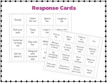Relational Aggression - Social Skills Card Game