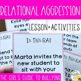 Relational Aggression Bullying Counseling Activities The G