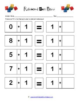 Relational Math (1) -Add 1
