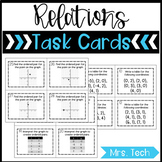 Relations Task Cards
