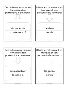 Advanced French conversation questions - Les relations familiales