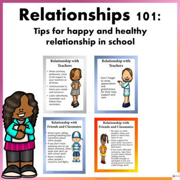 Relationship 101- Tips for a happy and healthy relationship in school