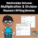 Relationship Between Multiplication and Division Using Dominoes