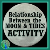 Relationship Between Tides + Moon Phases Activity NGSS MS-ESS1-1  MS-ESS