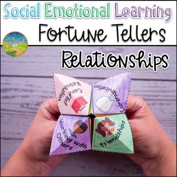 Relationship Skills Fortune Teller Craft