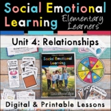Relationships Social Emotional Learning Unit for Elementar