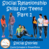 Social Communication and Relationship Skills for Teens Part 1 - The BASiCS