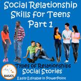 Social Communication and Relationship Skills for Teens Par