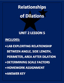 Relationship of Dilations (PDF)