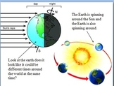 Relationships Among the Sun, the Moon, and Earth powerpoint.