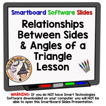 Relationships Between Sides and Angles of a Triangle Trian