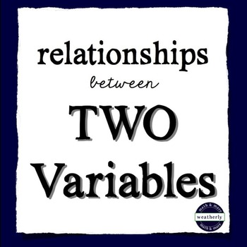 STATISTICS - Relationships Between Two Numerical Variables