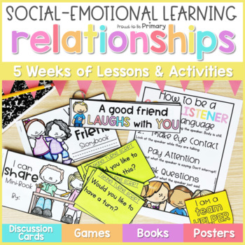 Relationships & Friendship - Social Emotional Learning Curriculum
