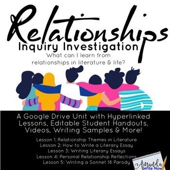 Relationships Inquiry Unit
