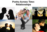 Relationships Poetry Unit - 15 Poems, 28 Lessons, PPT, Resources, Homework!