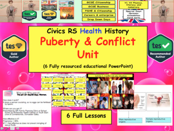 Relationships Puberty and Conflict Collection of lessons