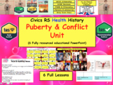 Relationships Puberty and Conflict Collection of lessons sex education