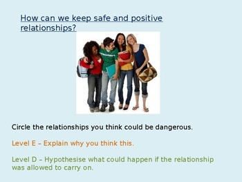 Relationships: Safety
