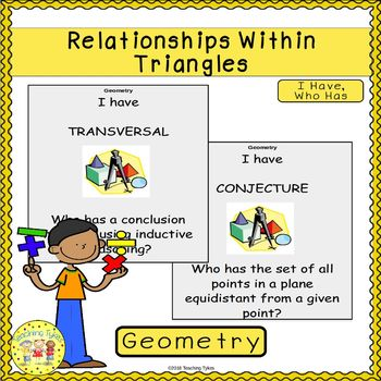 Relationships Within Triangles I Have, Who Has Game