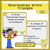 Relationships Within Triangles Task Cards