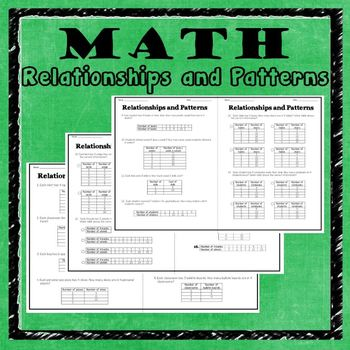 Math Relationships and Patterns