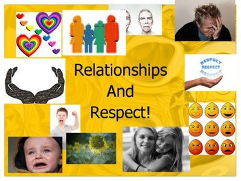 Relationships and Respect, No. 5 from the I HAVE AN IDEA Series, 'My feelings'