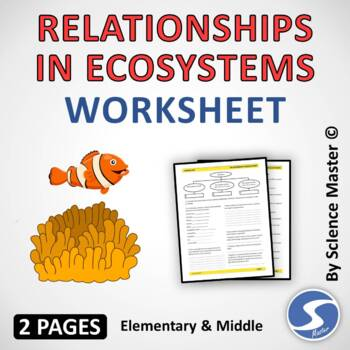 It is a graphic of Free Printable Ecosystem Worksheets with 8th grade