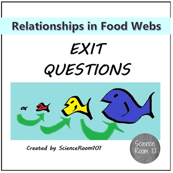 Relationships in Food Webs Exit Questions