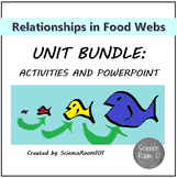 Relationships in Food Webs Unit