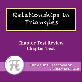 Relationships in Triangles Test