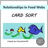 Relationships in a Food Web Card Sort