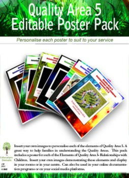 Relationships with Children Poster Pack