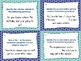 Relative Adverbs Task Cards (32) - Set 3 Common Core