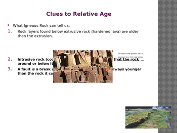 Relative Age and Geologic Time