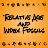 Relative Age and Index Fossils - Digital Interactive Activity