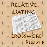 Relative Dating Crossword